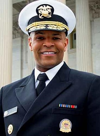 Photo of the Surgeon General of the United States